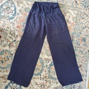 Old Navy fold over, linen blend pants.